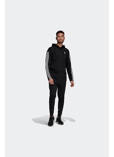 adidas Adidas Erkek Günlük Eşofman Takım M Rib Tracksuit Gm3827 Siyah